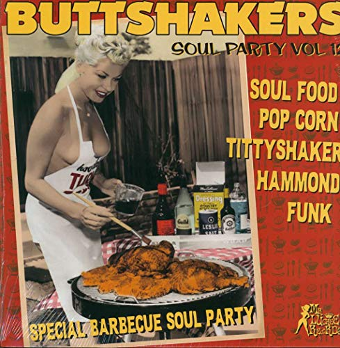 Buttshakers Soul Party Vol 12 - Special Barbecue Soul Party Sampler (Verschiedene Interpreten) [Vinyl LP]