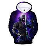 Surcotto Jungen Sweatshirt Design Inspiriert von Dem Spiel Fortnite(Aviolet-b, XXS)
