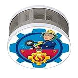 Smartwares FSM-16404 FSM-164 Penny Mini Rauchwarnmelder Rauchmelder Feuerwehrmann Sam/Penny-Motiv/für Das Kinderzimmer 10 Jahres Maße Nur 75 x 35 mm/VDs und Q-Zertifiziert