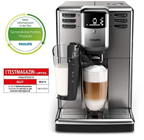 Philips 5000 EP5335/10 Kaffeevollautomat (mit LatteGo Milchsystem) ohne AquaClean Filter(Generalüberholt)