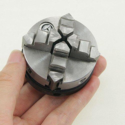 Selbstklebende 10521815 4 Mini maschinen SILVERL Schwingspulenspaltes Uhr zum Basteln Drechselfutter 50 mm