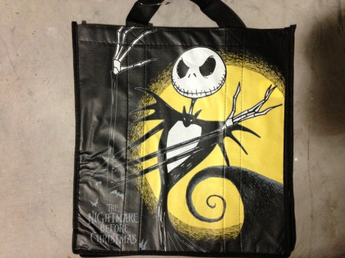 Authentic Disney Exclusive Nightmare Before Christmas Jack Skellington wiederverwendbare Tragetasche (Disney Travel Walt)