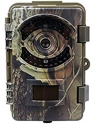 """Caméras de chasse Surveillance Wosports 16MP 1080P FHD 42 Noir LED IR, LCD 2,4"""" HD, IP54 Imperméable"""