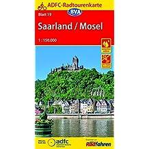 ADFC-Radtourenkarte 19 Saarland /Mosel 1:150.000, reiß- und wetterfest, GPS-Tracks Download (ADFC-Radtourenkarte 1:150000)