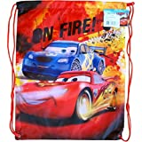 Disney String Backpack Drawstring - Cars Lightning McQueen
