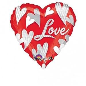 Amscan international design suisse en forme de coeur, en forme de cœur