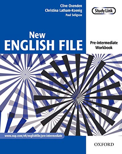 New English File: Pre-intermediate: Workbook: Six-level