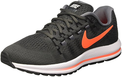 c71ca451a8 Nike Men's Air Zoom Vomero 12 Running Shoes, Black (Midnight Fog/Total  Crimson