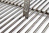 Grillrost.com Das Original Raschietto griglia griglia in Acciaio Inox per spessori Asta 4mm 5mm 5mm 6mm 6mm 8mm 8mm