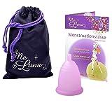 Me Luna Coupe menstruelle Soft, boule, rose, taille M