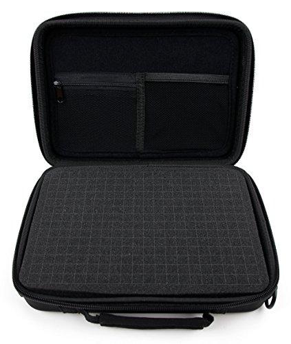 Tasche Mit Schaumeinlage 155 x 220 x 34 mm Für JEEMAK Action Cam 4K UHD 20MP Sport Kamera