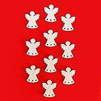 Bastelfilz Figuren Set - Engel mit Stern, klein. - Filz, Textilfilz, Streudeko