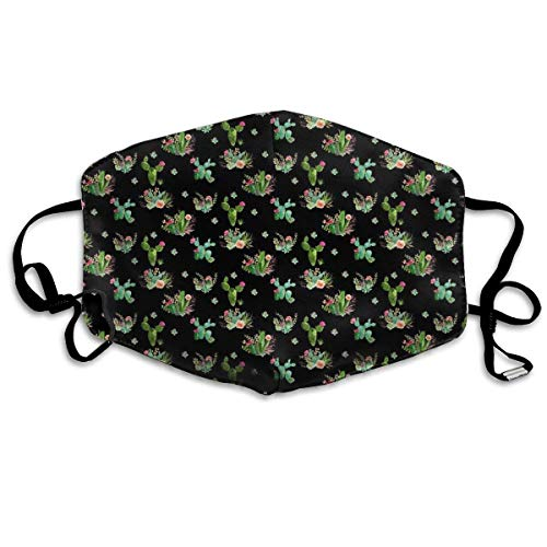 Masken,Masken für Erwachsene,Western Flowers Washable and Reusable Cleaning Mask,For Allergens,Exhaust Gas,Running,Cycling,Outdoor Activities