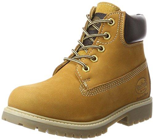 Dockers by Gerli Unisex-Kinder 35FN730-300910 Combat Boots, Gelb (Golden Tan), 30 (Combat Kinder Boots)