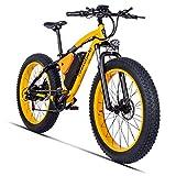 XXCY eBike MX02, Montagne Bike, 1000W Moteur, 48 V, 17 AH (Jaune)
