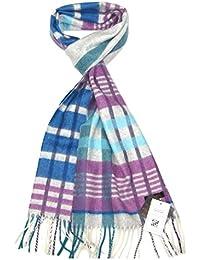 Lovarzi Kaschmir Schal für Damen - Karierte Frauen Schal - Hergestellt in Schottland