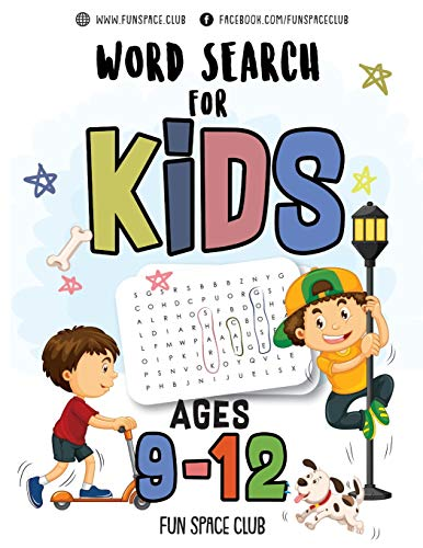 Word Search for Kids Ages 9-12: Word search puzzles for Kids Activity books Ages 9-12 Grade Level 4 5 6 7 (Word Search books for kids 9-12 - Word find ... word search hidden words puzzles!!, Band 1) -