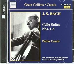 Great Cellists - Pablo Casals (Casals spielt Bach) (Aufnahmen 1929-1939)