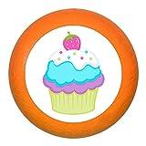 'Poignée de meuble Muffin Cupcake Fraise blanc turquoise violet vert bois enfants Chambre d'enfant fille 1Rêve Enfant