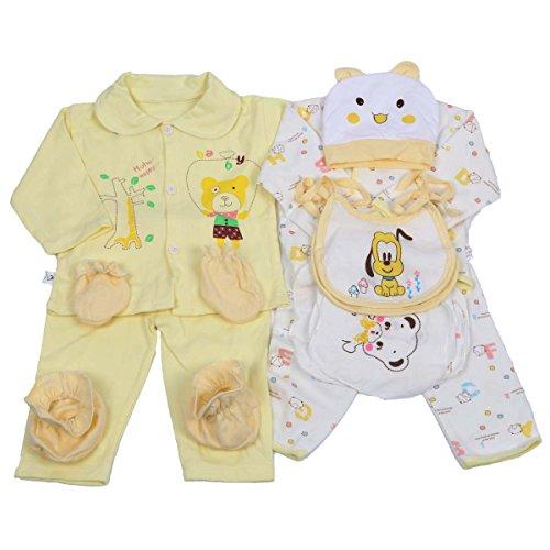 Jinyouju recién Nacido Ropa bebé Unisex Esencial