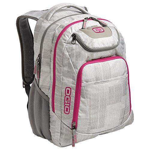 ogio-mochila-de-negocios-para-el-portatil-modelo-excelsior-talla-unica-gris-nieve-rosa