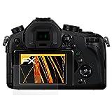 atFoliX Schutzfolie für Panasonic Lumix DMC-FZ1000 Displayschutzfolie - 3 x FX-Antireflex blendfreie Folie