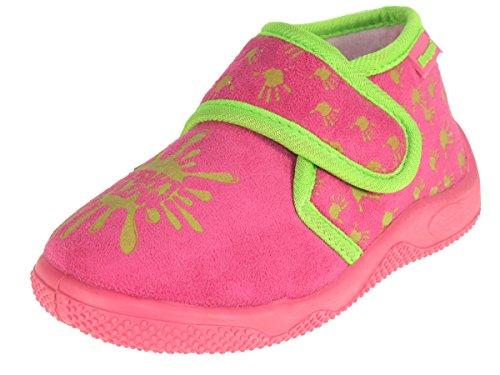 Beppi Kinder Hausschuhe Pantoffeln 213624 Pink