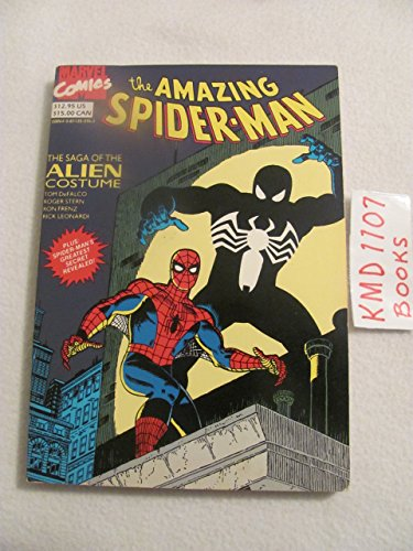 The Amazing Spiderman: The Saga of the Alien Costume by Tom DeFalco (1-May-1991) Paperback