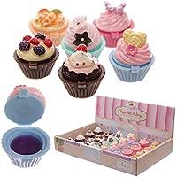 Lipgloss lucidalabbra a forma di dolcetto cupcake torta colorata