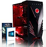 VIBOX Scorpius 13 PC Gaming Computer con War Thunder Voucher di Gioco, Windows 10 OS (4,0GHz AMD FX Quad-Core Processore, Nvidia Geforce GTX 750ti, 32GB DDR3 1600MHz RAM, 3TB HDD)