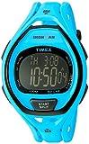 'Timex Ironman Sleek 50Neon' Orologio al quarzo resina da running, colore: Blu (Model: TW5M019009J)