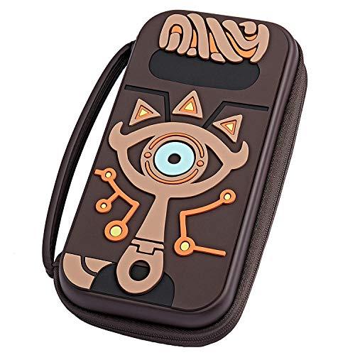 Koffer kompatibel mit Nintendo Switch Zelda, Silikon-Hartschalen-Ketten-Hika-Schieferauge, Legend of Zelda-Zubehör-Reisetasche