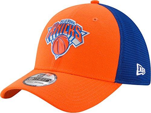 New Era NBA NEW YORK KNICKS 2017 Authentic On-Court 39THIRTY Stretch Fit Cap, Größe :M/L (Cap Hut Nba)