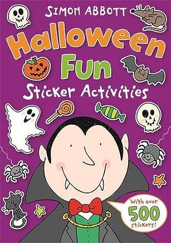 Halloween Fun Sticker Activities
