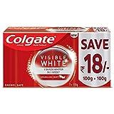 Colgate Toothpaste Visible White Sparkling Mint - 200 g (Whitening-Saver)