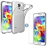 TMTmove® Samsung Galaxy S5 mini Silikonhülle Transparent