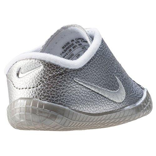 Nike Waffle 1 Premium Cbv, Sandales Compensées mixte enfant silver