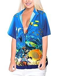 hawaiana Amazon it donna Abbigliamento camicia qqRrdv