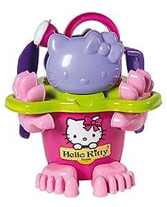Androni Giocattoli S.r.l. - 0732105 - Jeu De Plage - Hello Kitty Set - Pirino - 15 Cm