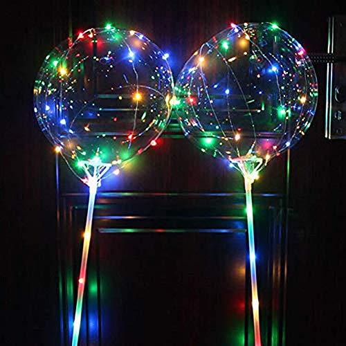 Party Räumungsverkauf  , Wiederverwendbare leuchtende geführte Ballon-transparente runde Blasen-Dekorations-Party-Hochzeit by jieGREAT