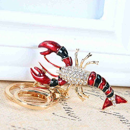 hardware-for-you-ltd-1-crystal-red-and-black-lobster-key-ring-handbag-keychain