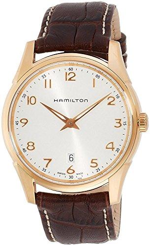 HAMILTON watch jazz master thin line Quartz H38541513 Men's [regular imported goods]