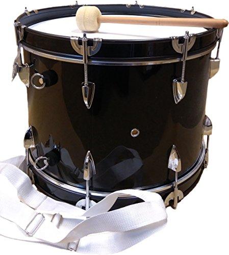 Basstrommel JWB-01 schwarz 18