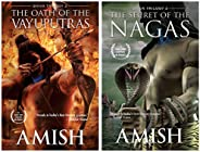 The Oath Of The Vayuputras (Shiva Trilogy) + The Secret Of The Nagas (Shiva Trilogy-2) (Set of 2 Books)