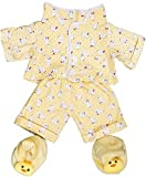 Best Matching Stuffed Animals - Stuffems Toy Shop Yellow Chicken Pajamas with Slippers Review