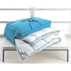 Sabanalia - Edredón nórdico, fibra 400 g Xtreme (varios tamaños disponibles), cama de 90 cm - 150 x 220 cm
