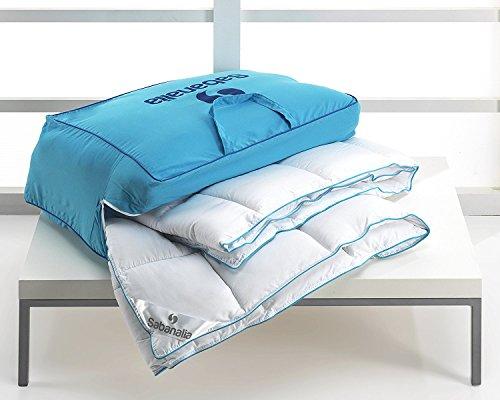 Sabanalia - Edredón nórdico, fibra 400 g Xtreme (varios tamaños disponibles), cama de 150 cm - 240 x 220 cm