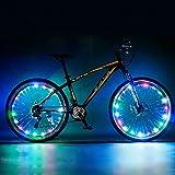 Fahrrad Speichen LED Light-Bar Schlauch mit 15 LED Lämpchen / LED BIKE TUNING