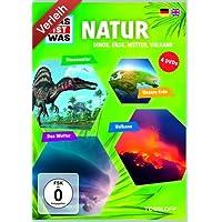 Was ist Was - Natur - Dinos, Erde, Wetter, Vulkane