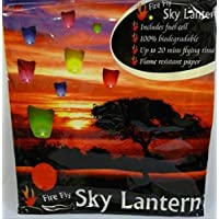 2to5 4 x 1M Tall Multi Coloured Sky Lanterns Chinese lanterns Chinese New Year Celebrations
